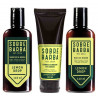 Kit Barba Shampoo, Balm e Condicionador Para Barba Lemon Drop Sobrebarba   New Old Man