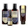 Kit Shampoo, Balm, Óleo e Esfoliante Para Barba Jungle Boogie Sobrebarba | New Old Man